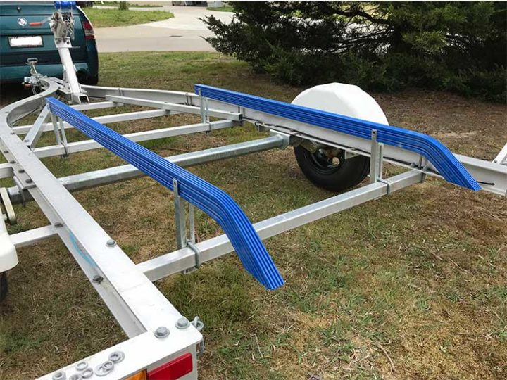 How To Install Boat Trailer Bunks
